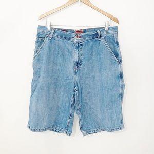 VINTAGE HILFIGER Red Label Denim Carpenter Shorts